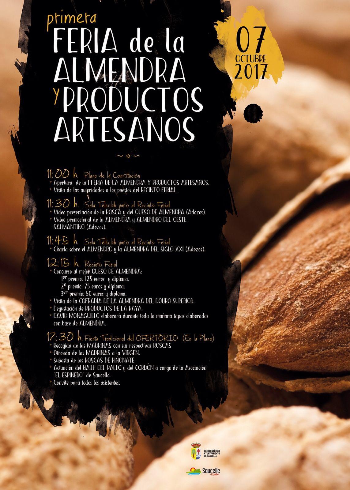 Feria de la almendra y productos artesanos 2017